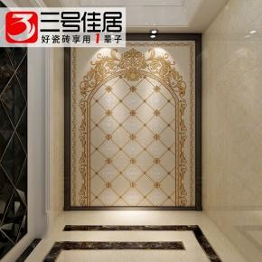 欧式瓷砖背景墙