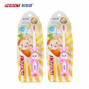 小兔子儿童小头牙刷2支装