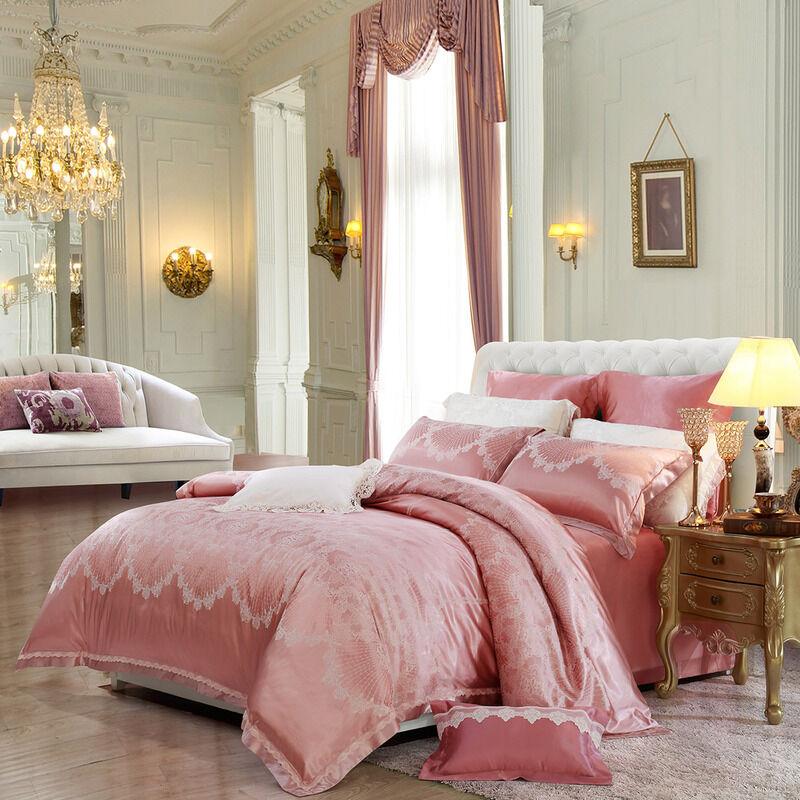 欧式大提花四件套 1.8m(6英尺)床图片