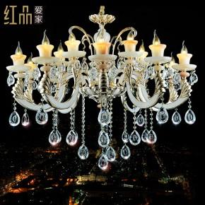 欧式玉石水晶吊灯